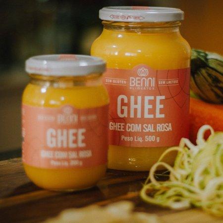 Manteiga Ghee com Sal Rosa 500g Benni