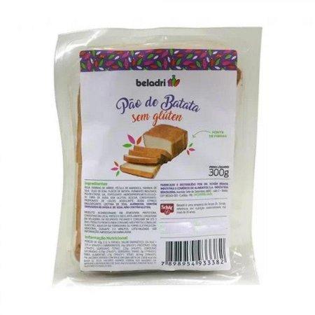 Pão de Forma de Batata Vegano Sem Glúten 300g Beladri