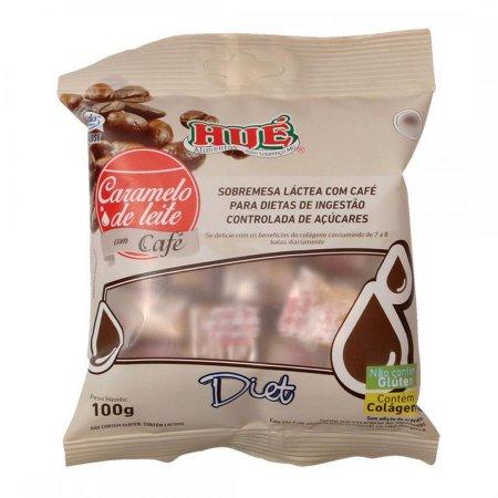 Caramelo de leite com cafe diet - 100g