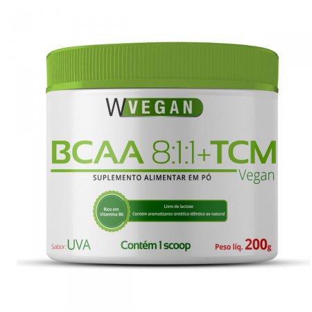BCAA + TCM WVegan Sabor Uva 200 g