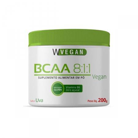 Combo 1 Glutamina 200g + 1 BCAA 200g Uva + 1 Creatina 200G WVegan