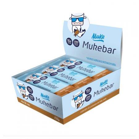 Barrinha Muke Pão de Mel 60g 12 unidades +MU