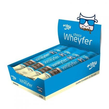 Choco Wheyfer Baunilha 25g 12 unidades +MU