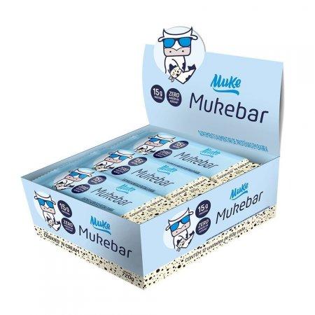 Barrinha Muke Cookies'n Cream 60g 12 unidades +MU
