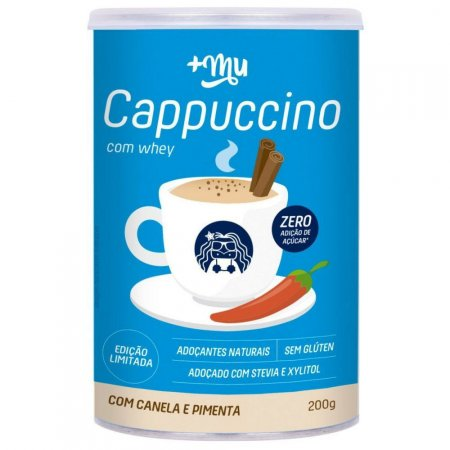 Cappuccino com Whey 200g +MU