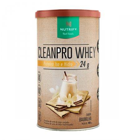 Proteína Cleanpro Whey Sabor Baunilha