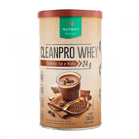Proteína Cleanpro Whey Sabor Cacau