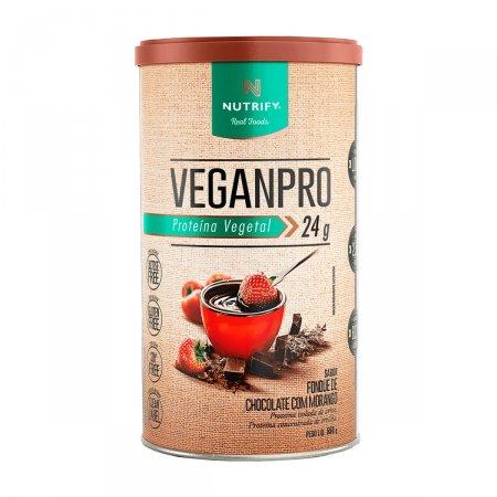 Proteína Vegetal Veganpro Sabor Fondue de Chocolate com Morango