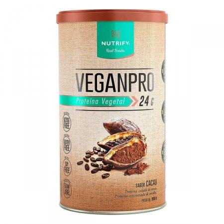 Proteína Vegetal em Pó Veganpro Nutrify Cacau