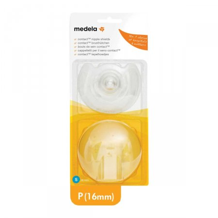 Protetor de Mamilo de Silicone Medela P 16mm 2 Unidades Foto 1