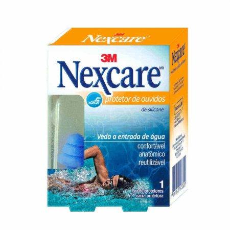 Protetor de Ouvido de Silicone Nexcare 3M com 1 par