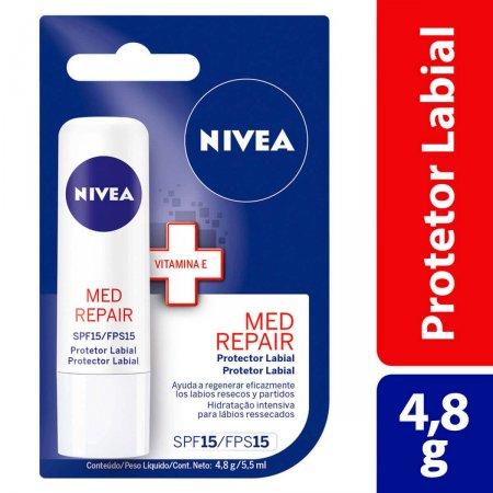 Protetor Labial Nivea Med Repair FPS15