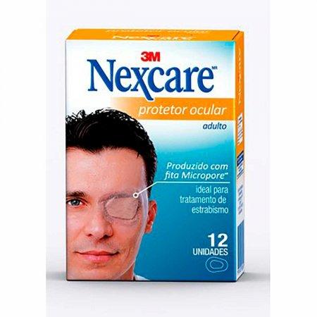 Protetor Ocular 3M Nexcare  Adulto com 12 Unidades