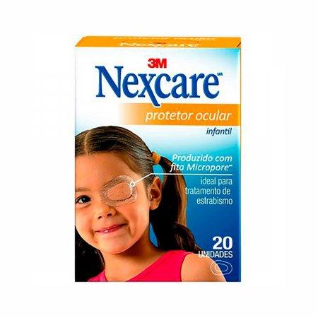 Protetor Ocular 3M Nexcare Infantil com 20 Unidades