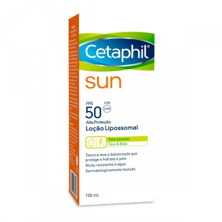 Protetor Solar Cetaphil Sun Loção Lipossomal FPS50