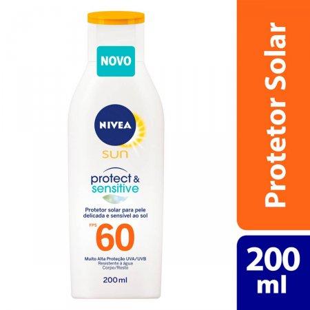 Protetor Solar Corporal Nivea Sun Protect & Sensitive FPS60