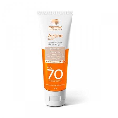 Protetor Solar Facial Actine Pele Clara FPS70 40g |