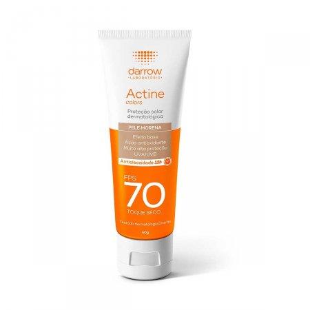 Protetor Solar Facial Actine Pele Morena FPS70 40g |