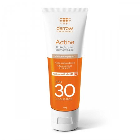 Protetor Solar Facial Actine Cor Universal FPS30 40g  