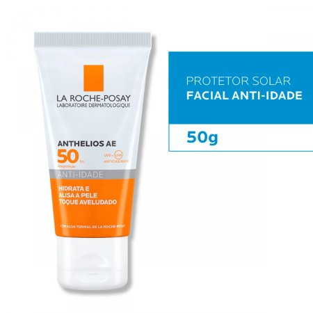 Protetor Solar Facial Anthelios AE Anti-Idade FPS50