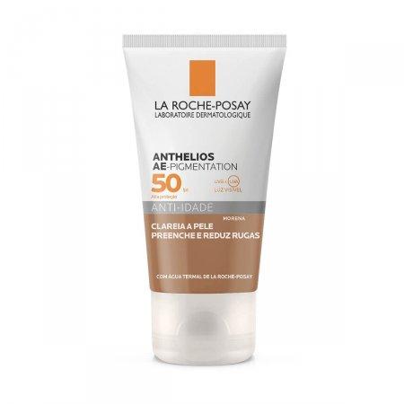 Protetor Solar Facial Anthelios AE-Pigmentation Cor Morena FPS50