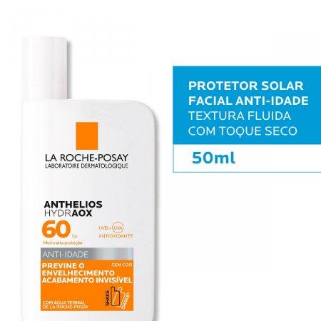 Protetor Solar Facial Anthelios Hydraox Sem Cor FPS60