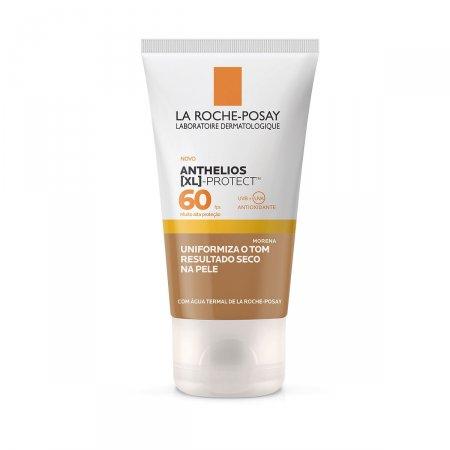 Protetor Solar Facial Anthelios XL Protect Cor Morena FPS60 40g |
