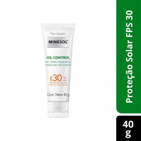 Protetor Solar Gel Creme Facial NeoStrata Minesol Oil Control Toque Seco FPS30
