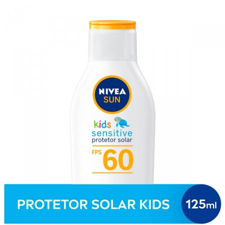 Protetor Solar Infantil Nivea Sun Kids Sensitive FPS 60 com 125ml