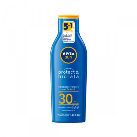 Protetor Solar Nivea Sun Protect & Hidrata FPS30 com 400ml