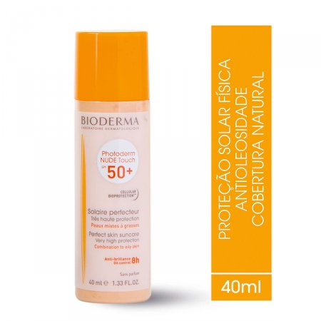 Protetor Solar Photoderm Nude Touch FPS50+ Cor Claro com 40ml | Foto 2