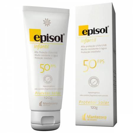 Protetor Solar Infantil Episol FPS50
