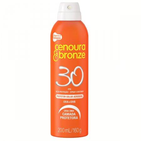 Protetor Solar Cenoura & Bronze Aerosol FPS30