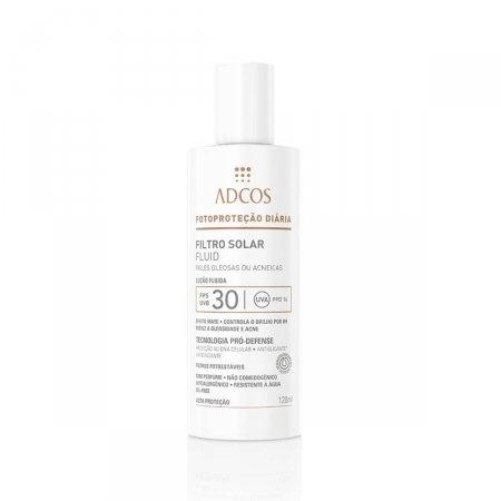 Protetor Solar Facial Adcos Fotoproteção Pele Oleosa FPS30
