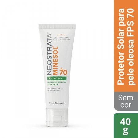 Protetor Solar Facial NeoStrata Minesol Oil Control FPS 70 com 40g