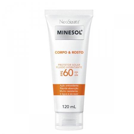 Protetor Solar Fluido Hidratante NeoStrata Minesol Rosto & Corpo FPS60