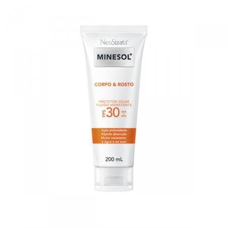 Protetor Solar Neostrata Minesol Corpo & Rosto Fluido Hidratante FPS30