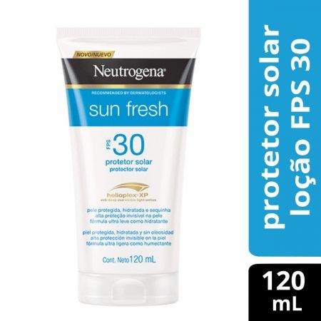 Protetor Solar Corporal Neutrogena Sun Fresh FPS30