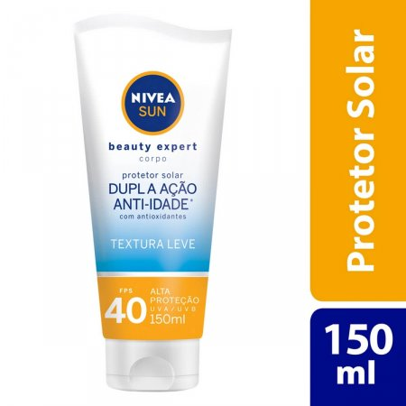 Protetor Solar Nivea Sun Beauty Expert Corpo FPS40