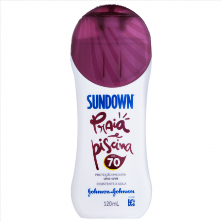 Protetor Solar Sundown Praia e Piscina FPS70