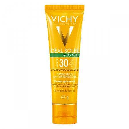 Protetor Solar Vichy Ideal Antiacne FPS30