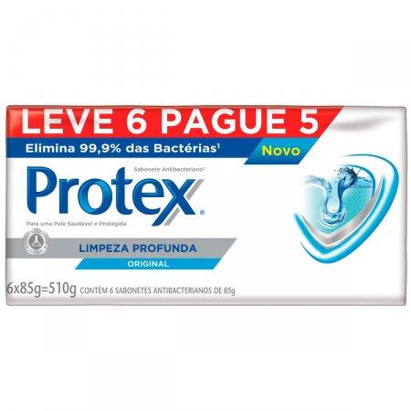 Kit Sabonete Protex Limpeza Profunda