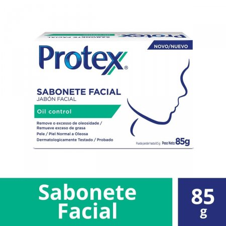 Sabonete em Barra Facial Protex Oil Control