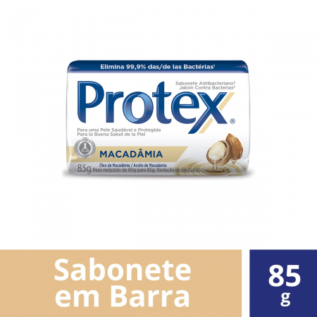 Sabonete Antibacteriano Protex Macadâmia