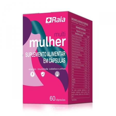 Suplemento Alimentar Raia Multi Mulher com 60 cápsulas