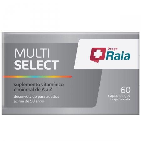 Suplemento Vitamínico Droga Raia Multi Select