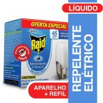 Repelente Elétrico Líquido Rai... Repelente Elétrico Líquido Raid Anti Mosquitos