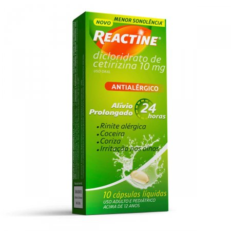 Reactine 10mg