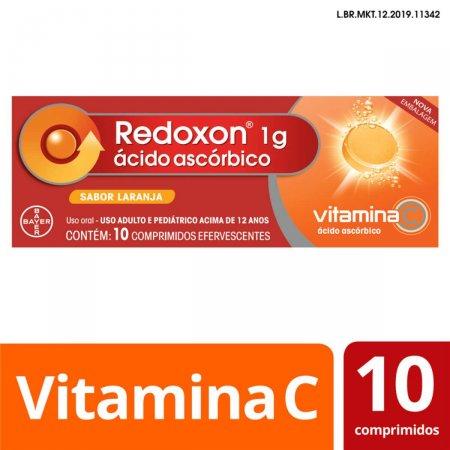Redoxon 1g com 10 Comprimidos Efervescentes