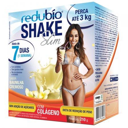 Redubío Shake Slim Sabor Baunilha